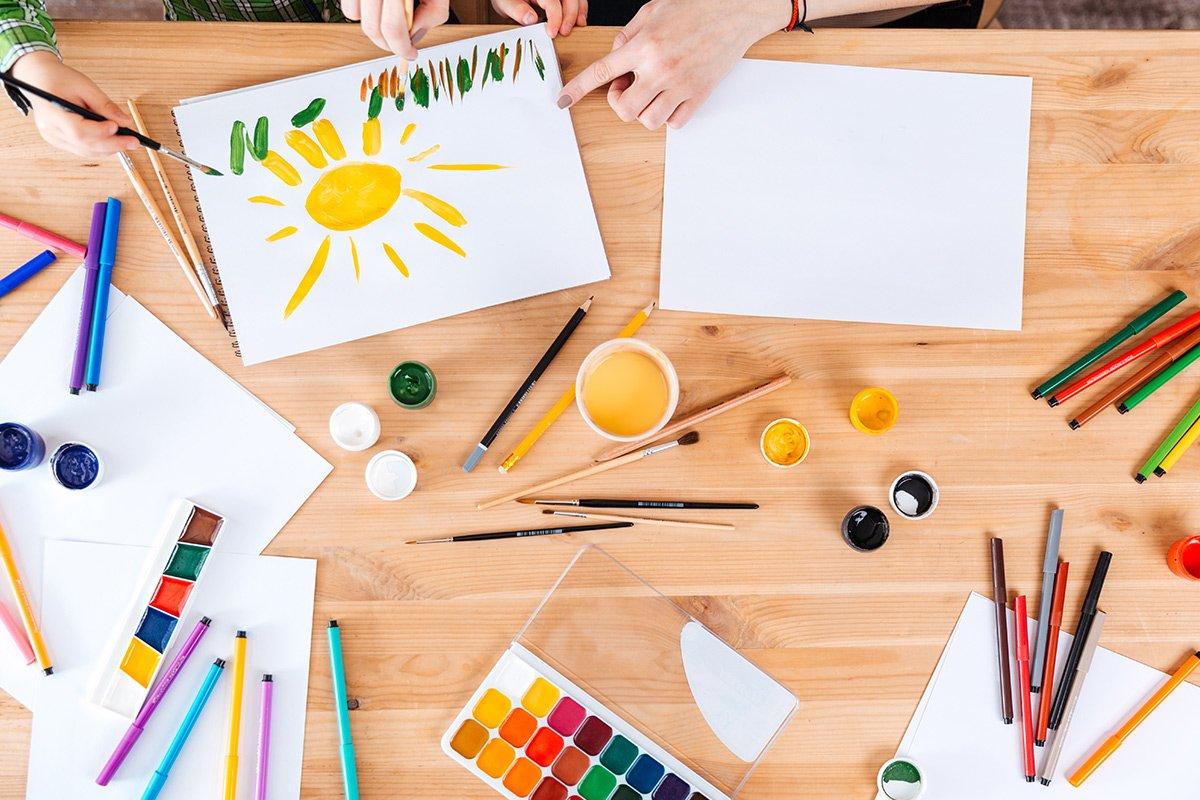 Ο Ρόλος της τέχνης στην προσχολική εκπαίδευση